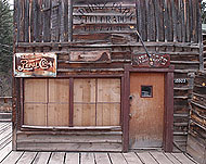 Photo of the Bucksnort Saloon
